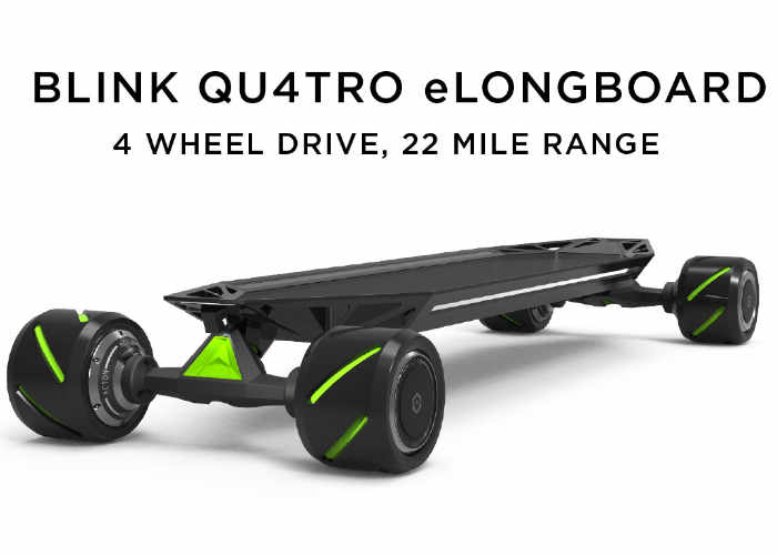 Blink All Wheel Drive Electric Skateboard