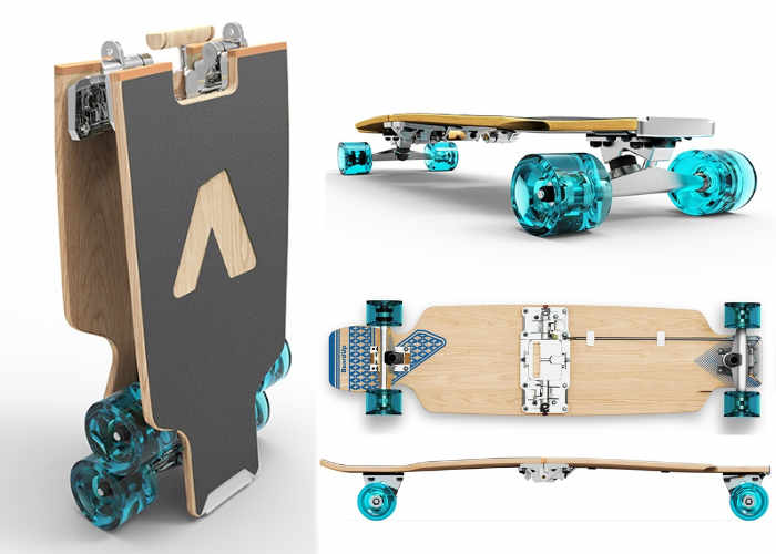 BoardUp Self-Folding Longboard