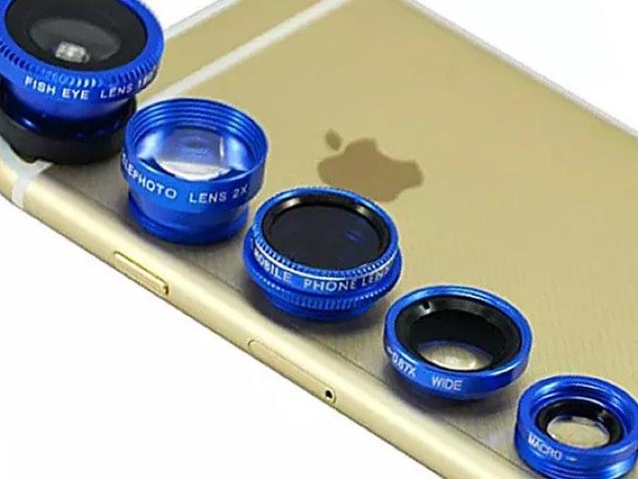 Clip & Snap Smartphone Camera Lenses 5-Pack