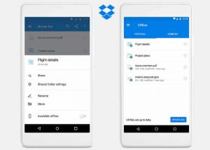 Dropbox Offline Folders Feature Now Available