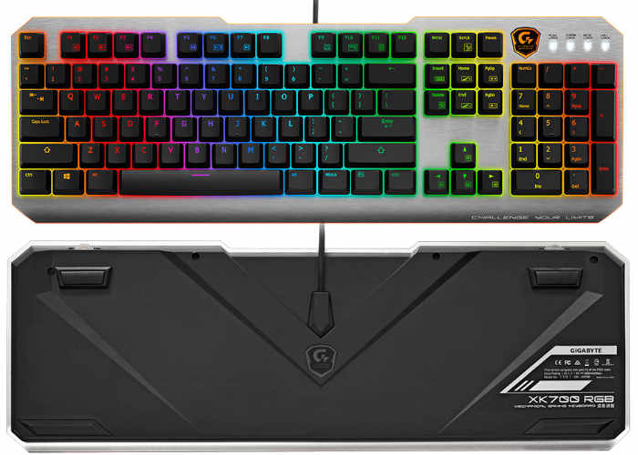 GIGABYTE Xtreme Gaming XK700 Mechanical Keyboard
