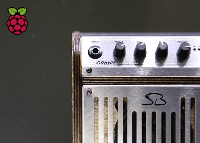 GRasPi Raspberry Pi Guitar Amplifier