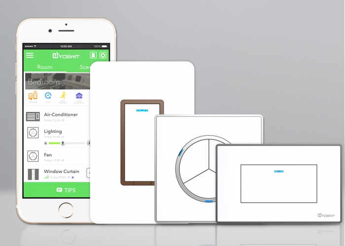 Yoswit Home Automation Smart Wall Switch (video)