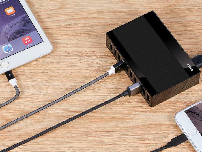 Kinkoo 10-Port USB Charging Station