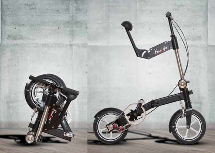 Kwiggle Ultra Compact Folding Bike Now Available From 1 240