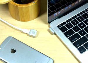 MagNeo MacBook Magnetic USB-C Adapter (video)