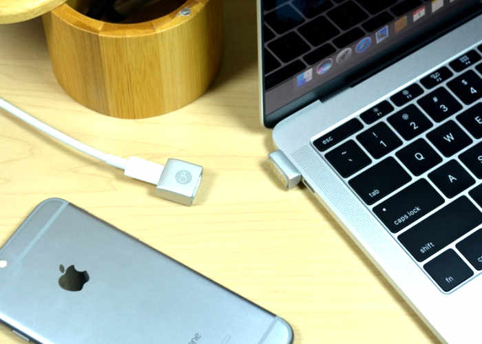MagNeo MacBook Magnetic USB-C Adapter (video)