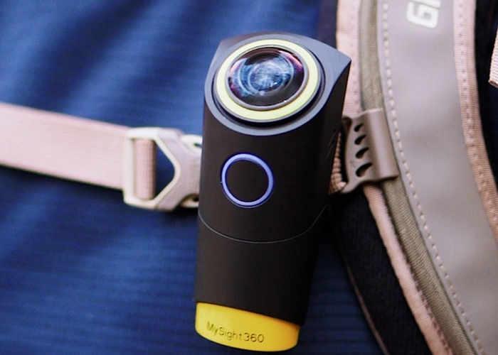 MySight360 Wearable Virtual Reality Camera