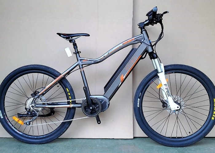 New E-Bike Electric Bicycle Offers High Torque Motor And More (video)