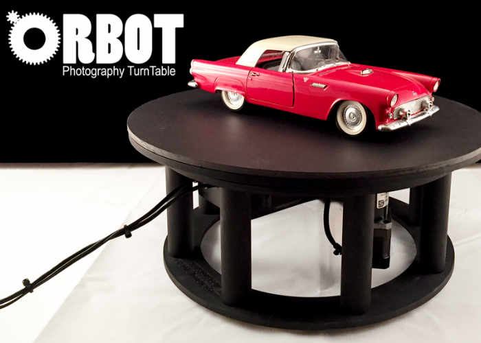 Orbot 360 Rotating Photography Turntable