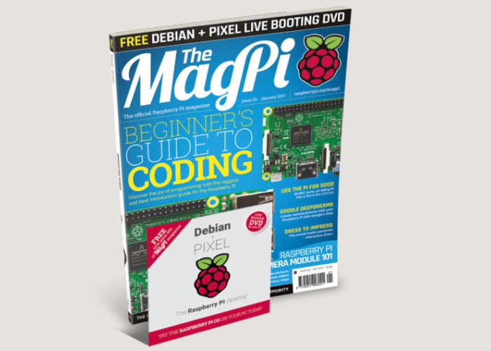 MagPi 53 Raspberry Pi Magazine Now Available With Free Debian + PIXEL DVD
