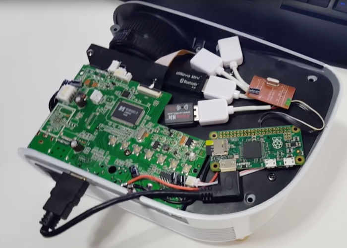 Raspberry Pi Zero Smart Projector