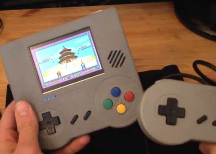 Raspberry Pi Handheld Emulation Console Kit Hits
