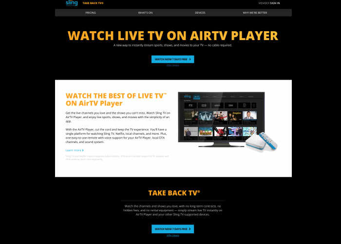 Sling TV Launching New AirTV Player