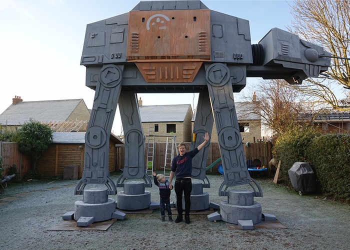 Star Wars AT-AT Garden Play House