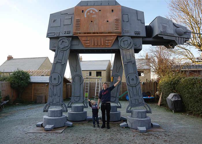 Star Wars AT-AT Garden Play House
