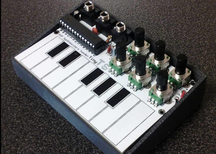 Tiny-TS Open-Sourced DIY Touch Synthesiser