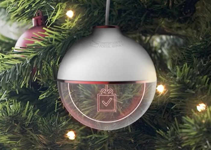 USPS Parcel Tracking Christmas Tree Decoration