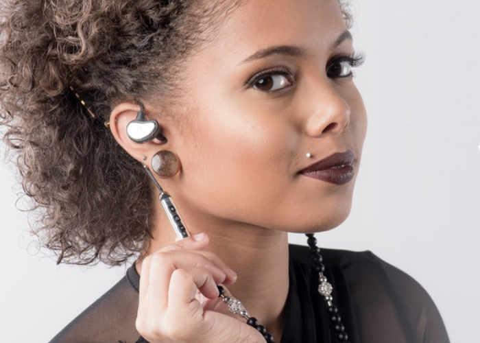 Unique GemPhone Necklace Wireless Earphones