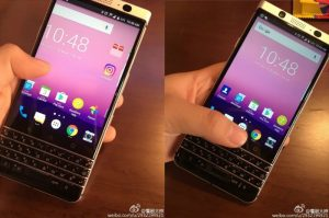 BlackBerry Mercury Android Smartphone Leaked