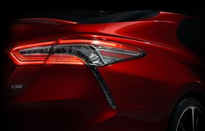 2018 Toyota Camry Teased