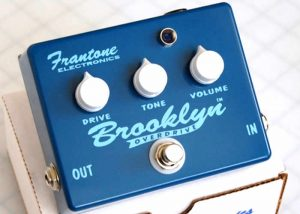 Last Legendary Frantone Brooklyn Overdrive Guitar Effects Boxes Available Via Kickstarter (video)