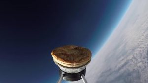 British Made Meat Pie Is The First Pie In Space (Video)