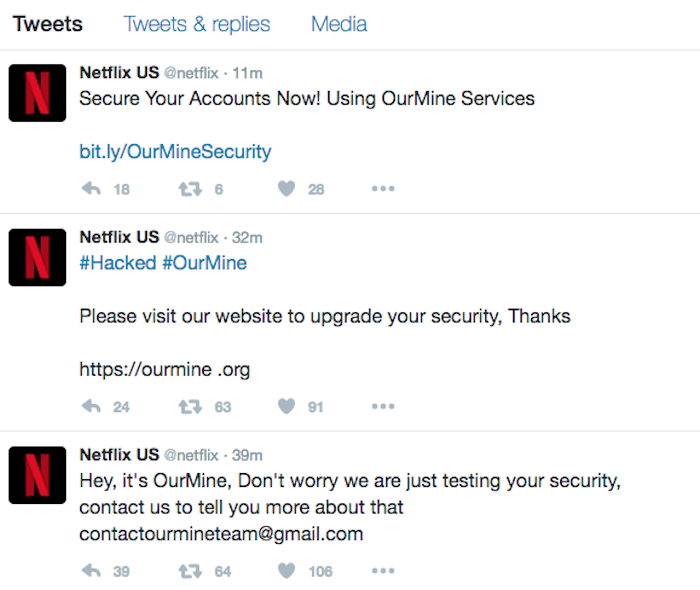 The NFL's Twitter account just got hacked
