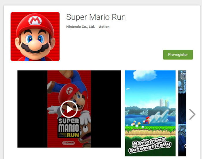 Android Users Can Pre-Register For Super Mario Run