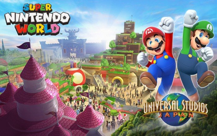 Super Nintendo World Will Open at Universal Studios Japan by 2020
