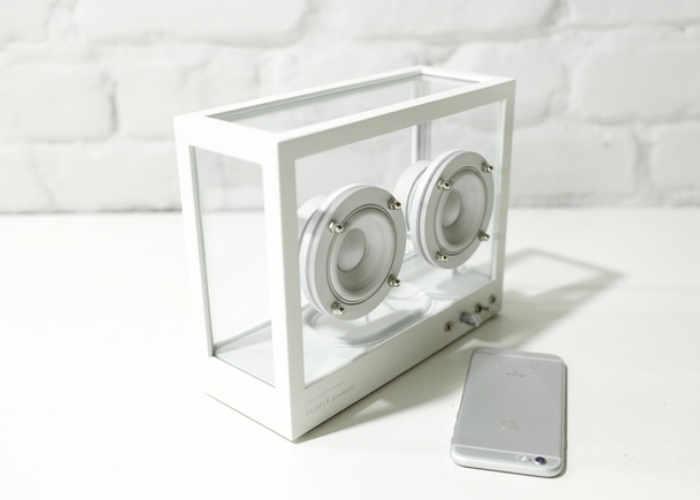 Unique Transparent Wireless Speaker By Swedish Design Team (video)
