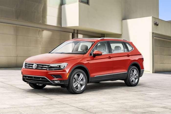 2018 Volkswagen Tiguan Long Wheelbase