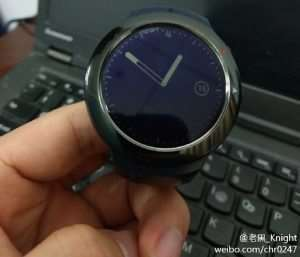 HTC Smartwatch Poses For The Camera