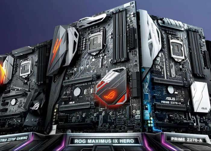 ASUS Announces 200 Series Chipset Motherboard Range