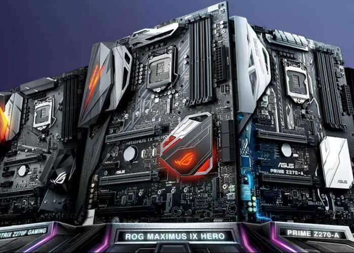 ASUS Announces 200 Series Chipset Motherboard Range