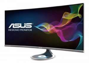 New ASUS Designo Curve MX38VQ Curved 4K HDR Monitor Includes Wireless Charging Pad