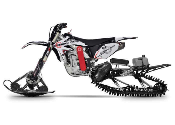 AWD Christini II-Track Snow Utility Bike