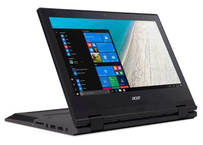 Acer TravelMate Spin B1 Convertible Touchscreen Notebook