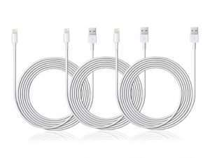 Get The 10-Ft MFi-Certified Lightning Cable 3-Pack, Save 75%