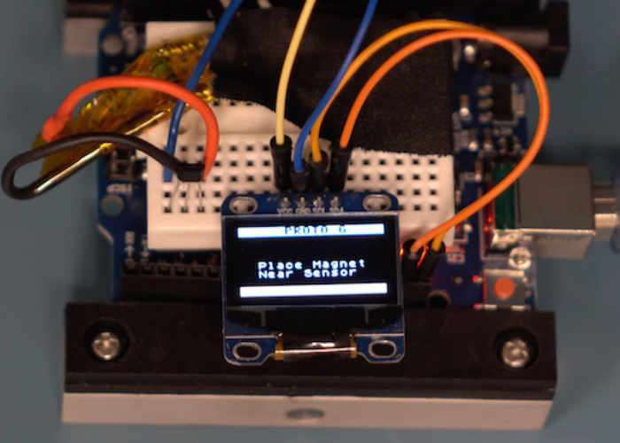 Arduino DIY Gauss Meter