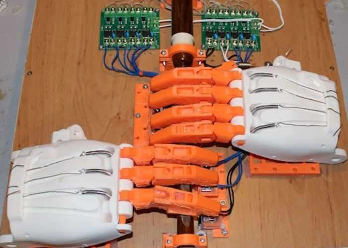 Arduino Powered Bagpipe Playing Robot