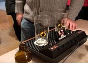 Atari 2600 Games Console Transformed Into Drink Racer Using Arduino Mega (video)