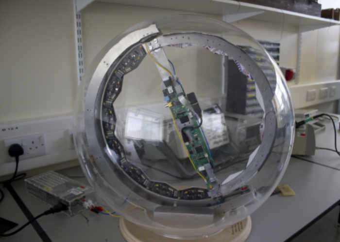 Awesome Raspberry Pi Death Star Vision Display