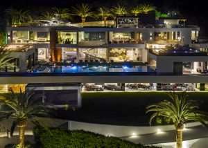 $250 Million 924 Bel Air Mansion Complete With Car Collection (video)