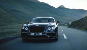 Bentley Continental Supersports Goes For A Spin (Video)