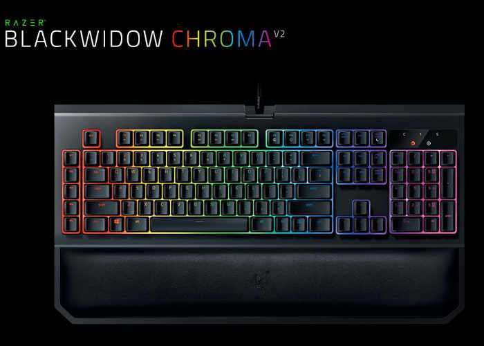 BlackWidow Chroma V2