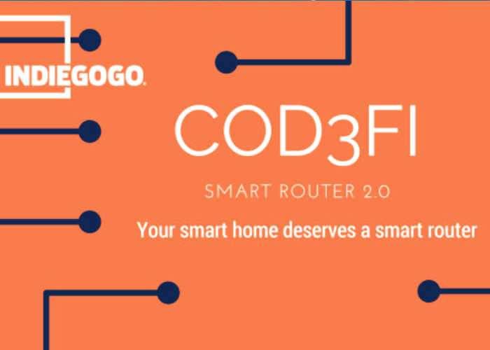 Cod3fi Smart Router Designed