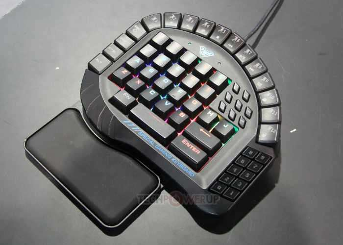Condensed FPS Gaming Keyboard