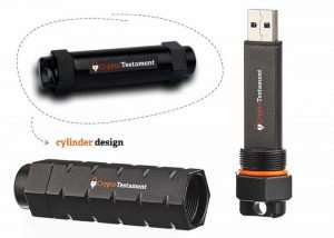 CryptoTestament Encrypted USB Drive Keeps Your Data Safe (video)