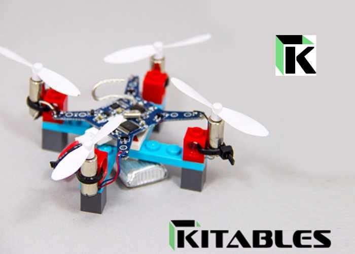 Diy Mini Lego Drone Kits Hit Kickstarter Video Geeky